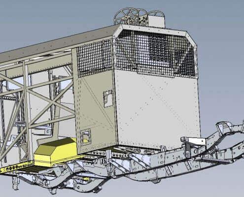 Kofferaufbauten für diverse Fahrzeuge wie hier dem Land Rover Defender