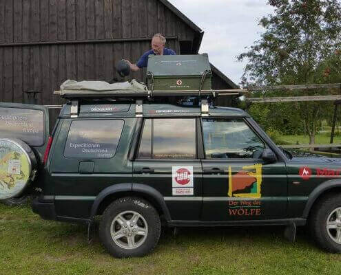 ENGAGE4X4 Dachträger für den Land Rover Discovery 2