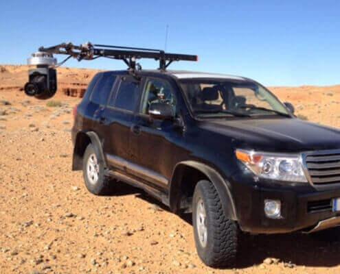 Kamerafahrzeug für Film Produktion