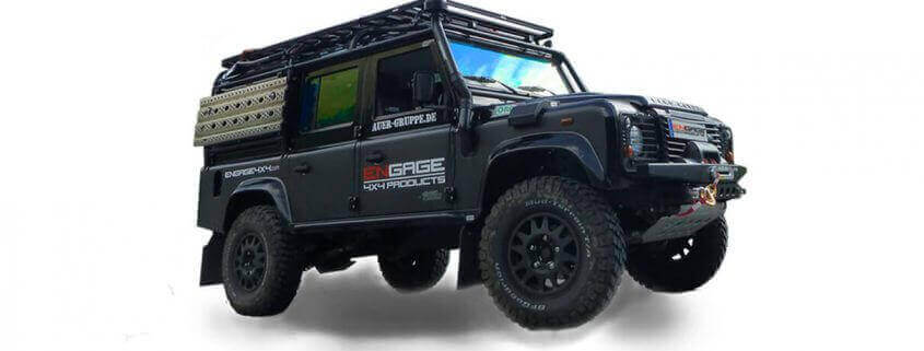 4WARD4X4 Land Rover Defender Outfitter und Conversions