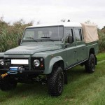 Umbau Defender 130 Land Rover