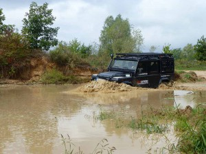 4WARD4X4 Vehicle Land Rover Defender
