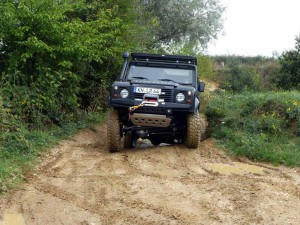 4WARD4X4 Offroad vehicle