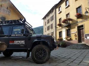 Land Rover Defender umgebaut