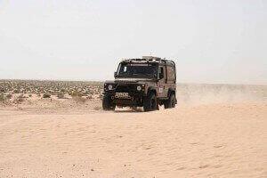 Defender Rallye Raid Tunesien