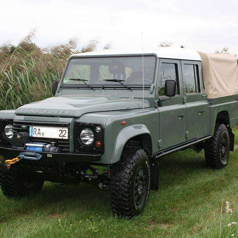 Umbau Land Rover Defender 130