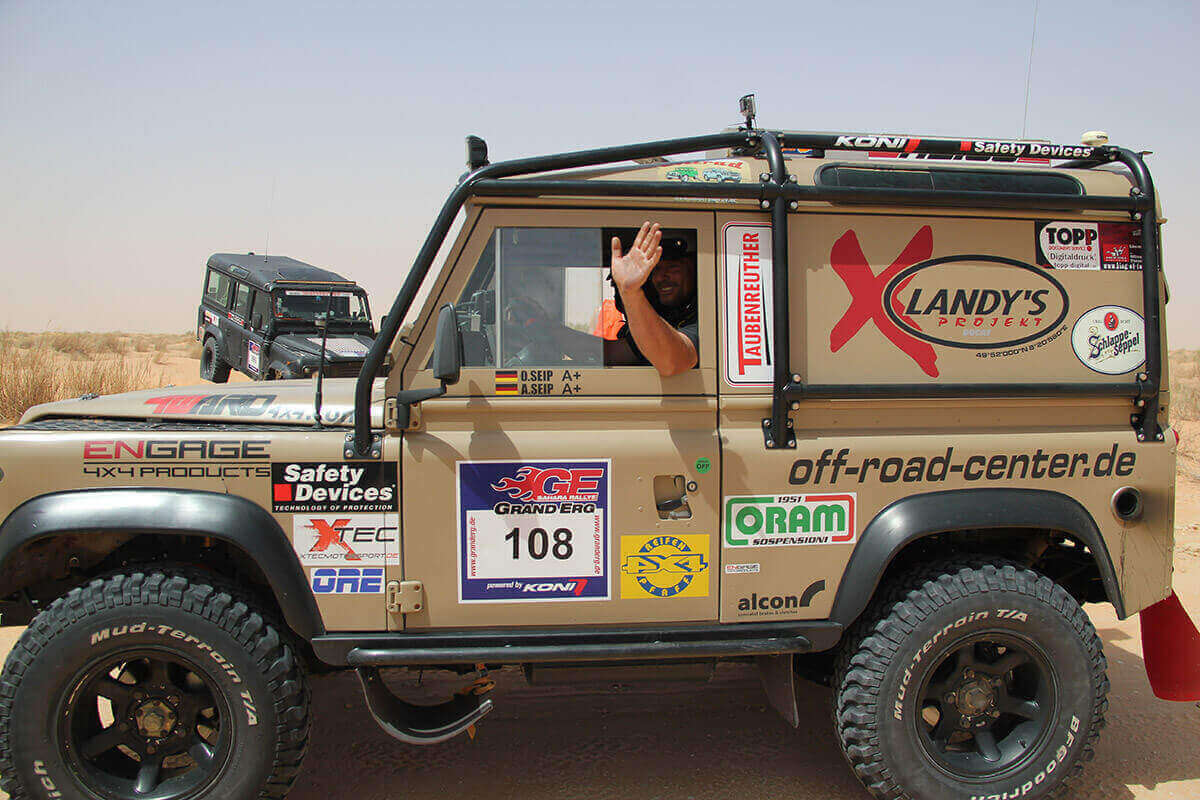X-Landy Team Olaf Seip