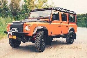 Land Rover Defender Umbauten mit Teilegutachten