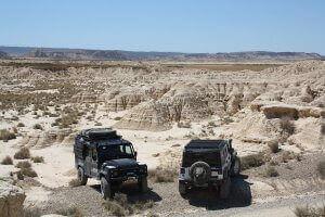 Land Rover Defender Expeditionsfahrzeug