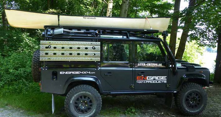 Land Rover Defender Outdoor Equipment