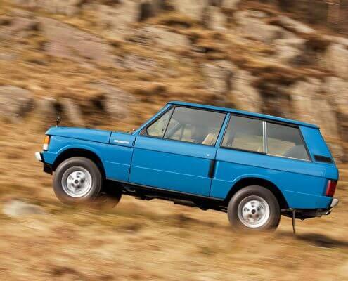 Reparatur und Restauration Range Rover