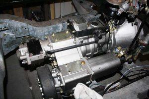 Überholtes Land Rover Serie 2a und 3 Getriebe