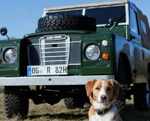 Restaurationen klassischer Land Rover und Range Rover