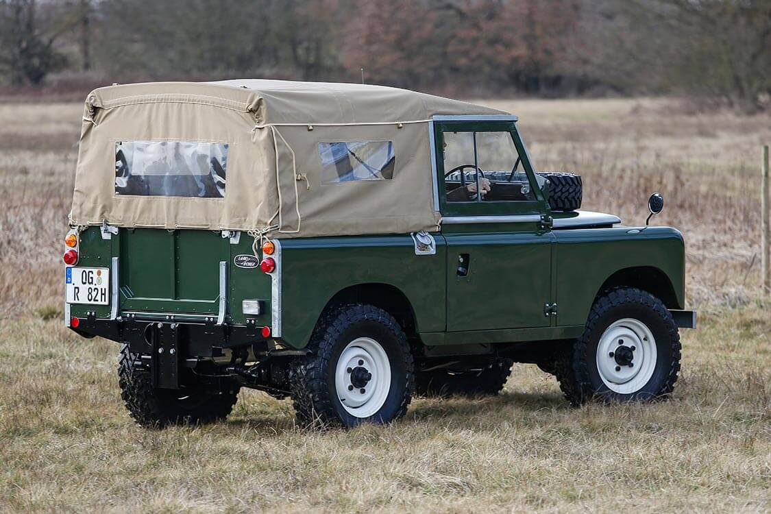 serie 3 von hinten land rover ersatzteile defender. Black Bedroom Furniture Sets. Home Design Ideas