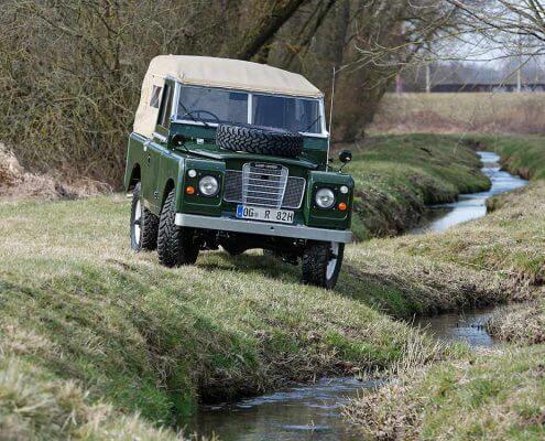 Land Rover Restauration bei 4WARD4X4