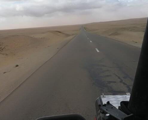 Mandal Gobi Wüsten Gebiet der Mongolei
