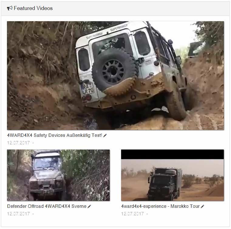 4WARD4X4-Land Rover Soialmedia