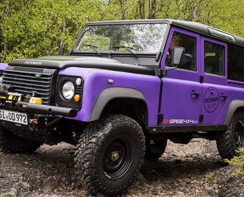 4WARD4X4 Referenz - Pistenkuh Land Rover Defender