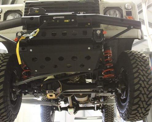 Pistenkuh Land Rover Defender