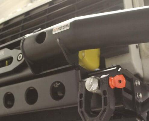 Tubular Windenstoßstange Land Rover Defender